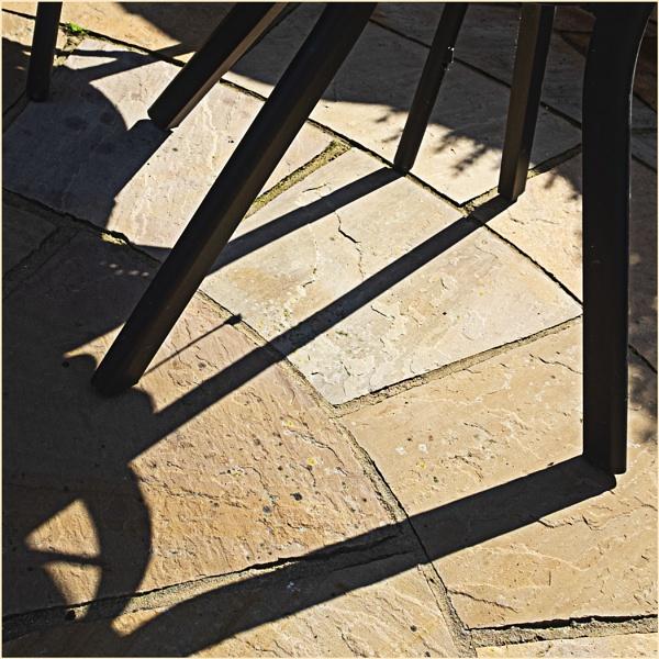 Patio Shadows by AlfieK