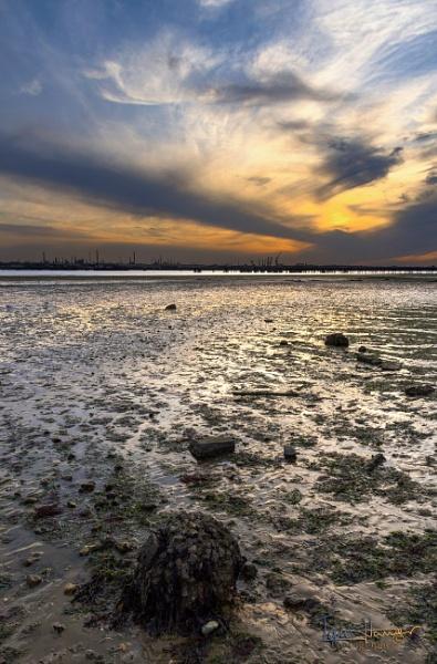 Sunset over Fawley by IainHamer