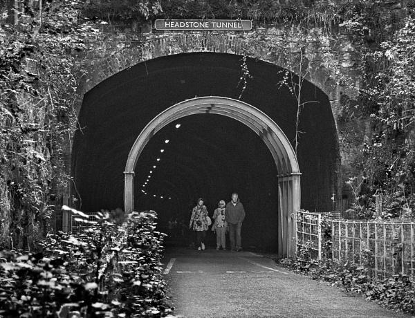Headstone Tunnel by lagomorphhunter