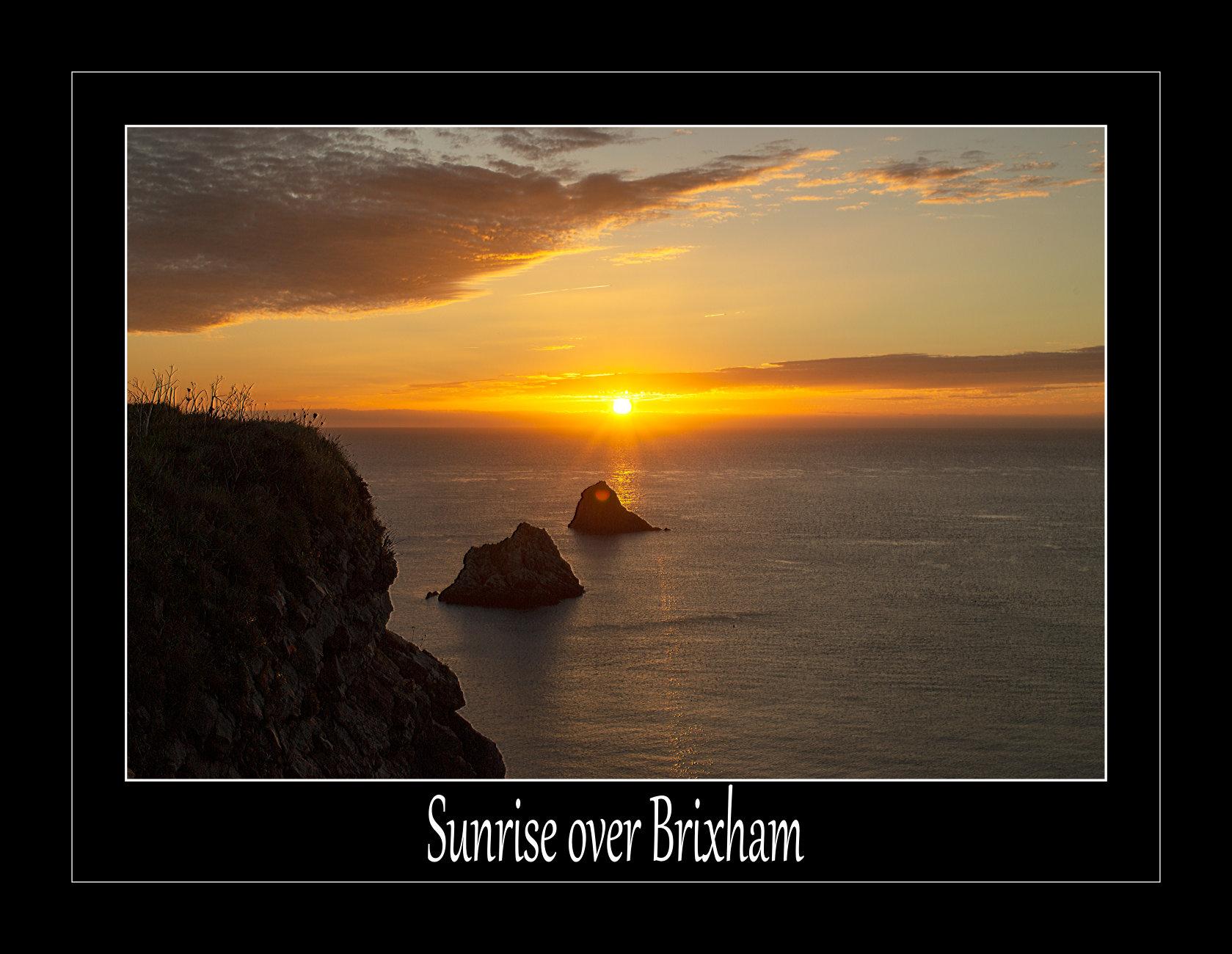 Sunrise Over Brixham