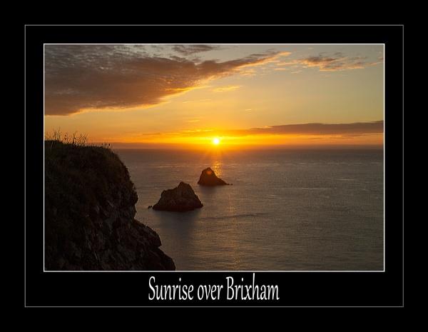 Sunrise Over Brixham by r0nn1e