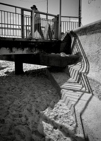 Railing Shadows by nclark