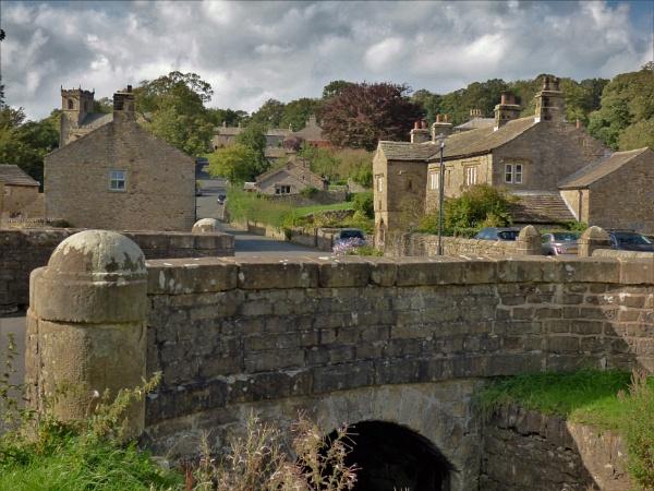 Downham village near Clitheroe,Lancashire. by cookyphil