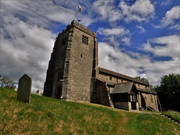 Whittington church. by cookyphil
