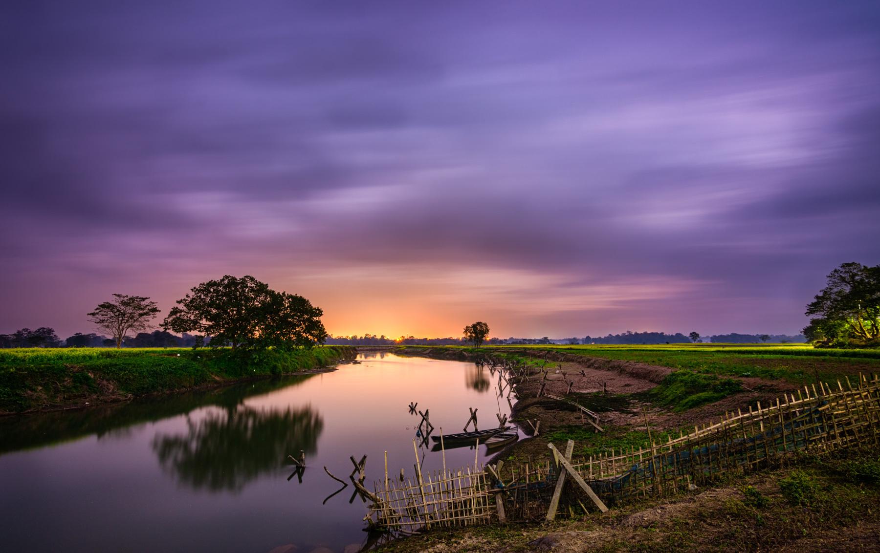 Hues of dusk