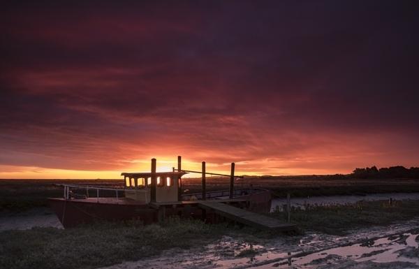 Norfolk Sunrise by stevie