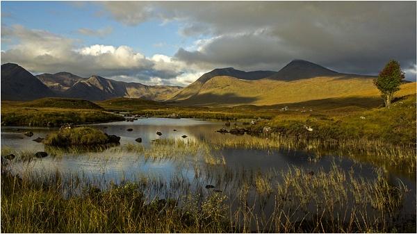 Loch in Scotland by hibbz
