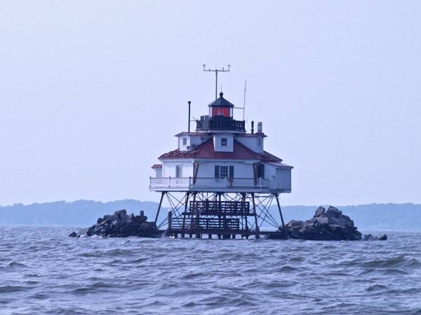Thomas Point Light by handlerstudio