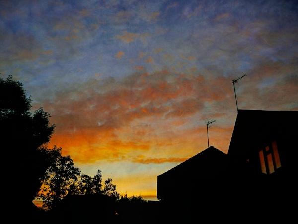 Autumn Sunrise by ThePixelator