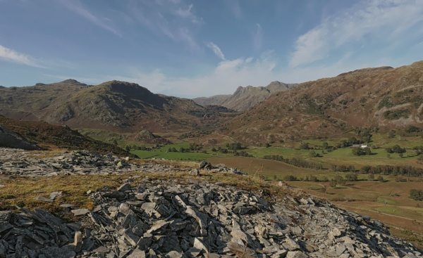 The Langdale Pikes by canoncarol