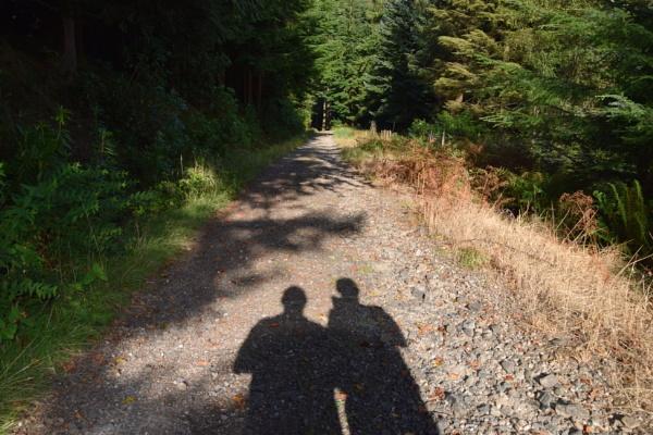 Me & My Shadow by davyskid