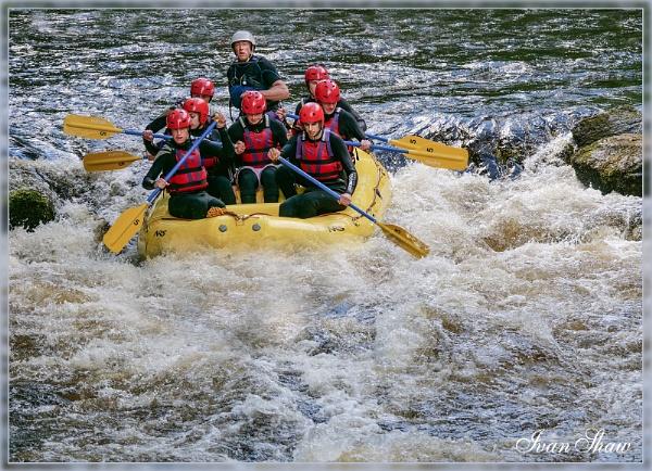 White Water Rafting by ivalyn