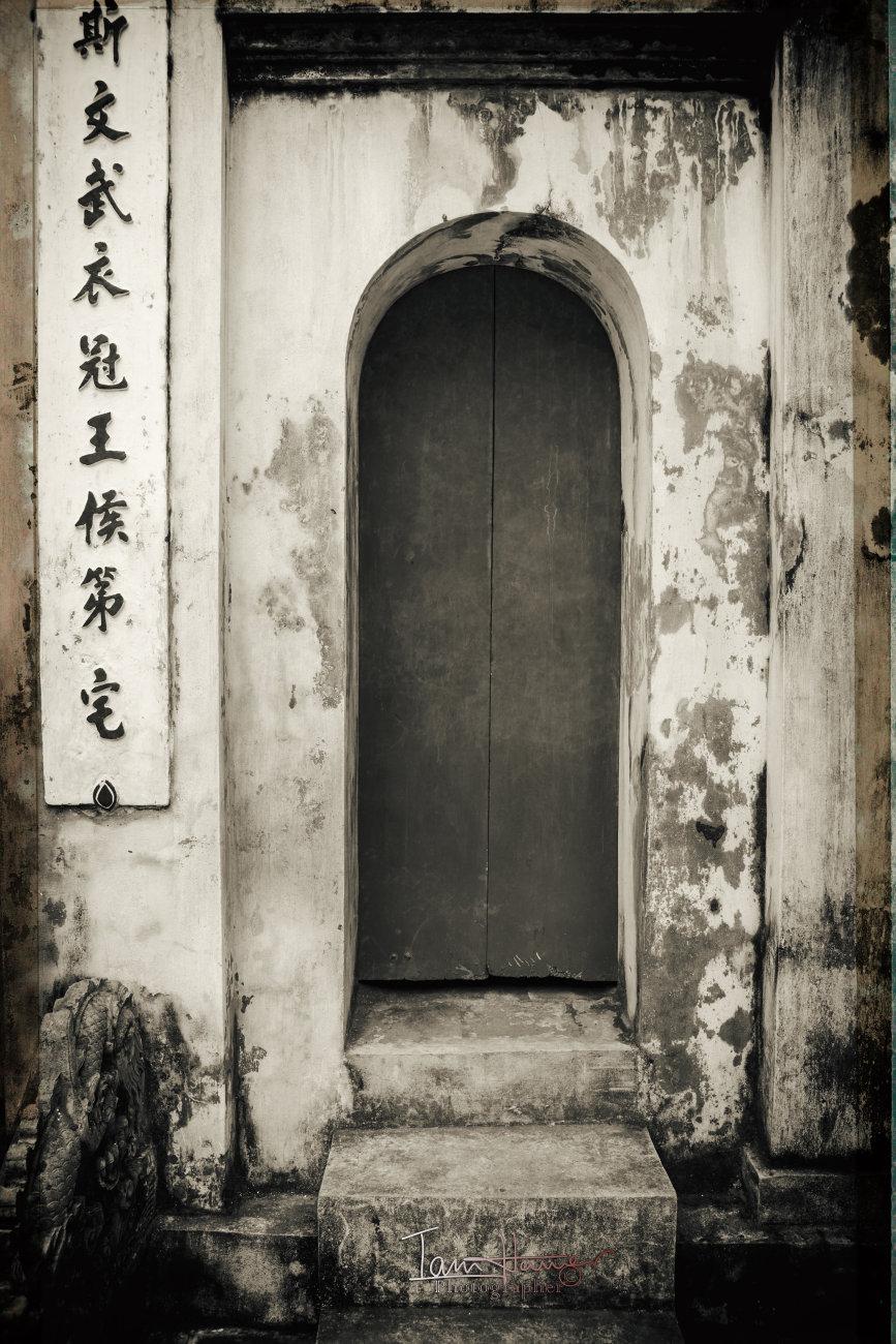 Hanoi doorway
