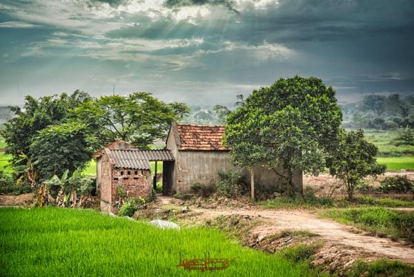 Roadside shack Hanoi by IainHamer