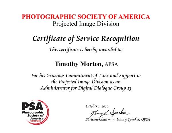Photographic Society of America ... by TimothyDMorton