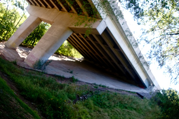 A Side way View under the Jolley Cut at Corktown Park ... by TimothyDMorton