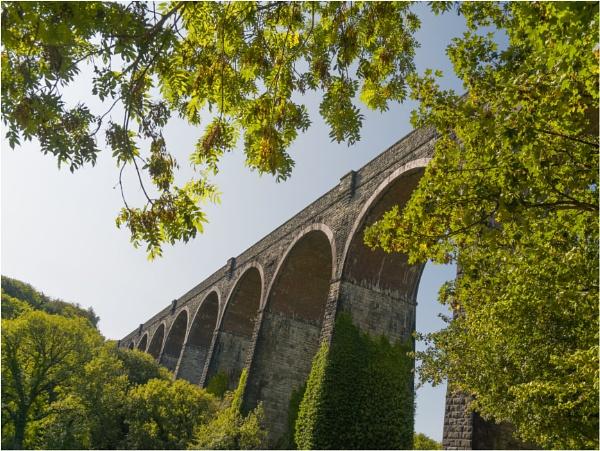 Porthkerry railway viaduct. by franken