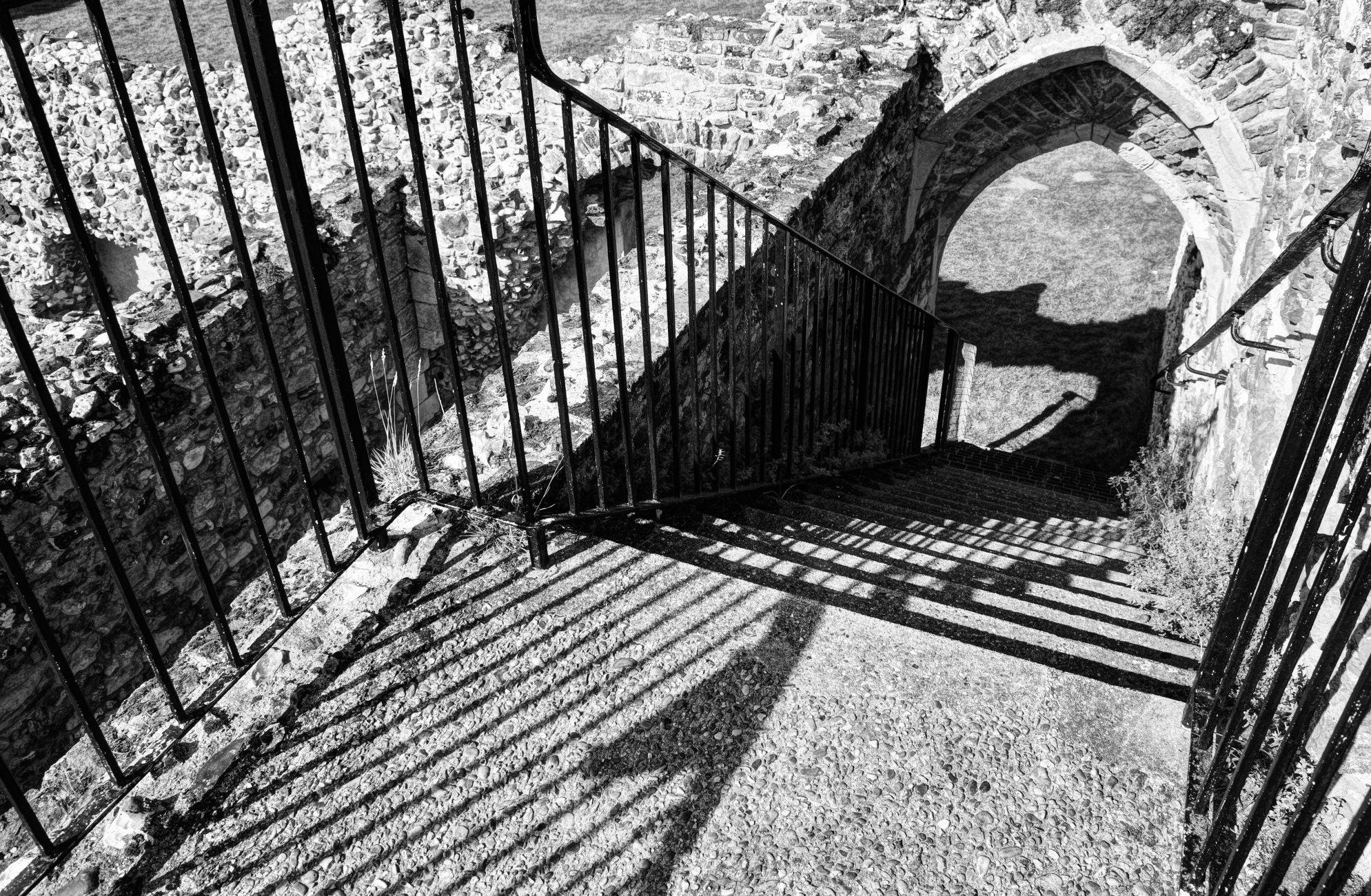 Shady steps