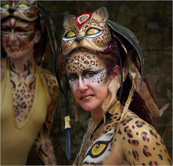 Cat women by Dixxipix