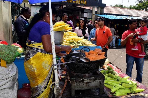 From_Kolkata # 107 Street Food in Kodaikanal by debu