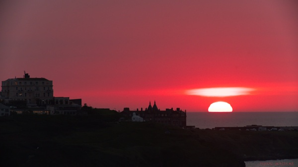 Newquay Sunset 2 by Alan_Baseley