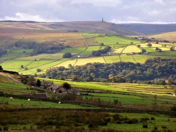 Calderdale landscape by cookyphil