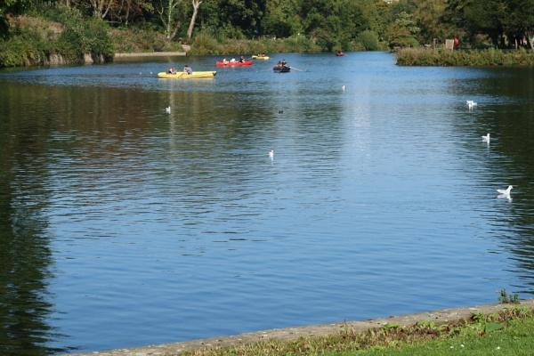 Highfields Park Lake by Canonshots