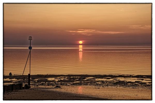 Sunset at Hunstanton, by malcf8
