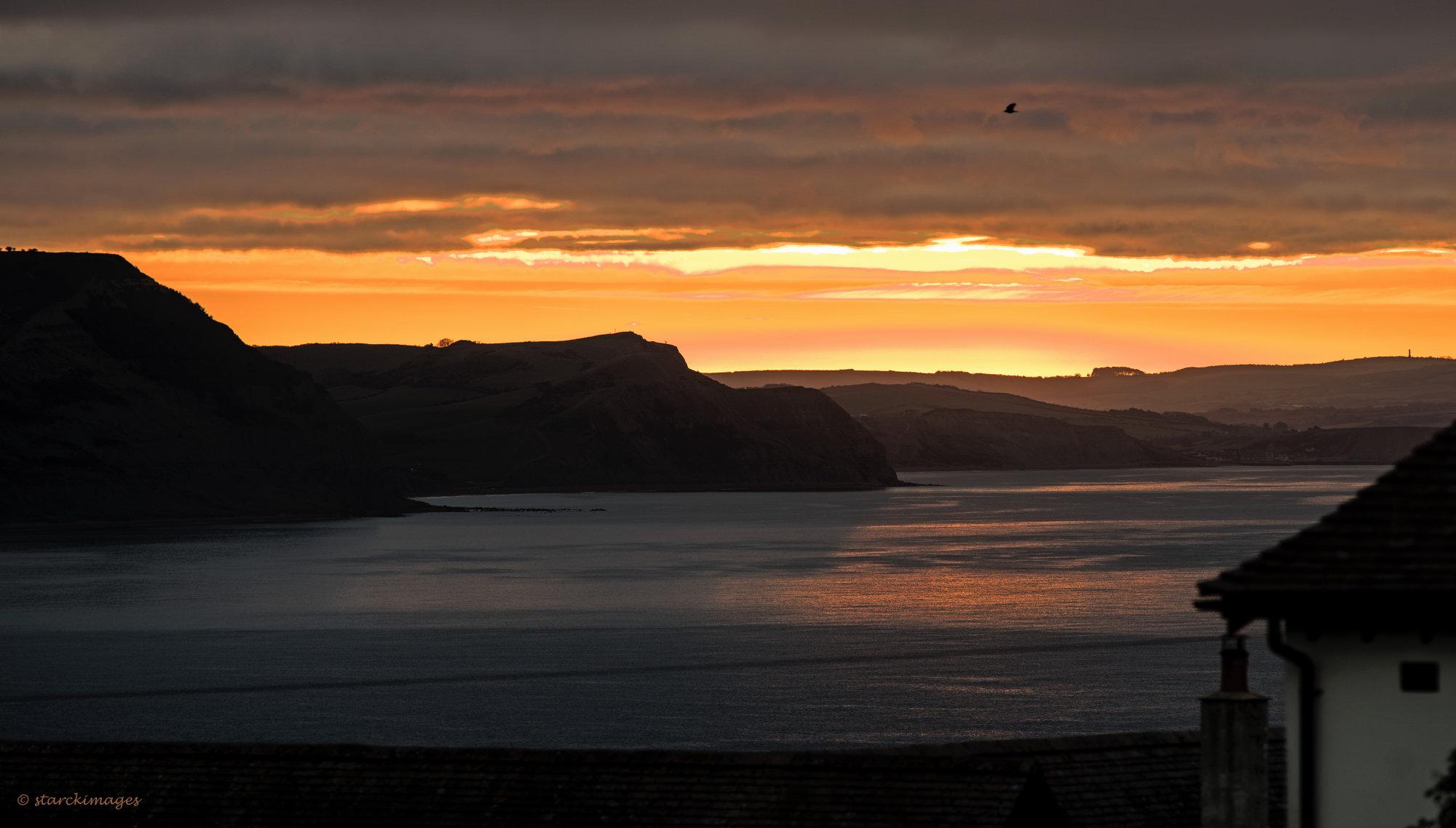 Today's Sunrise (From Lyme Regis, East of Golden Cap)