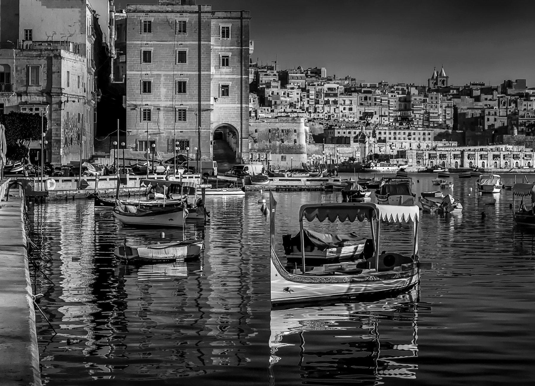Senglea Malta --------------Monochrome