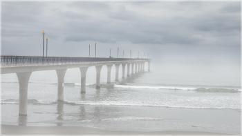 Mist on the Pier
