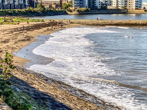 Granton Beach two. by Pinarellopete
