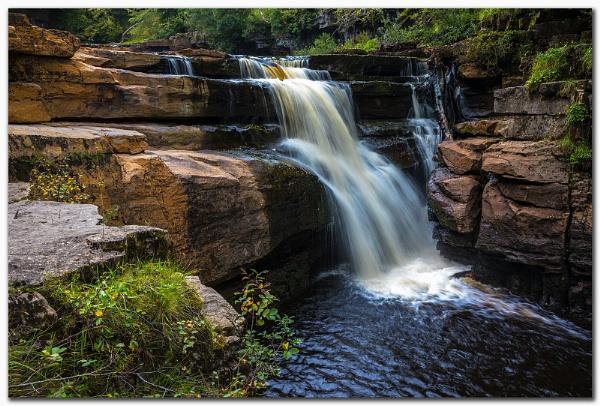 Kisdon Force, Lower Falls by MalcolmS