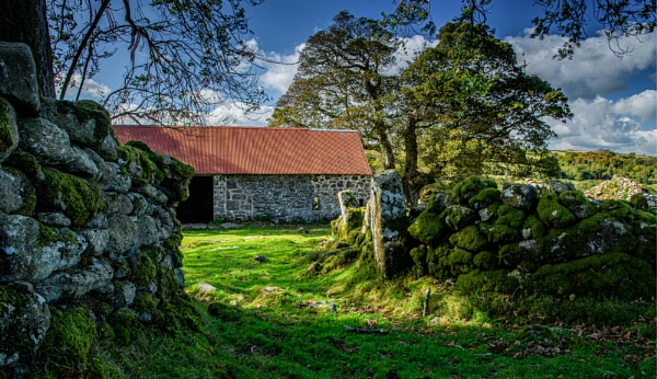 The Red Barn again by JohnDyer