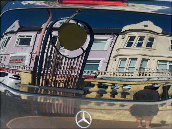 Mercedes reflection. by franken