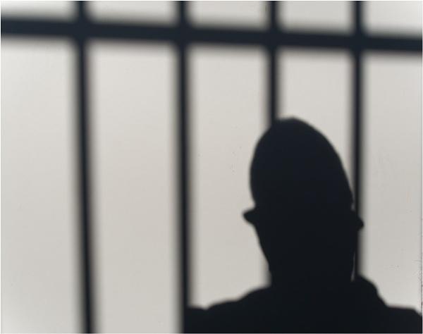 Behind bars. by franken