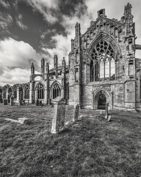 Melrose Abbey by AndrewAlbert