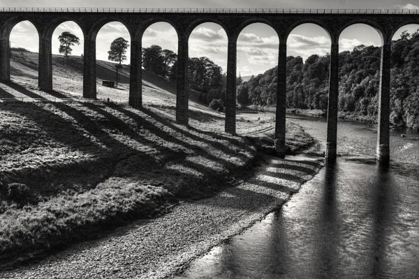 Leaderfoot Viaduct by AndrewAlbert