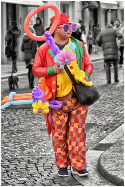 The Balloon Man by TrevBatWCC
