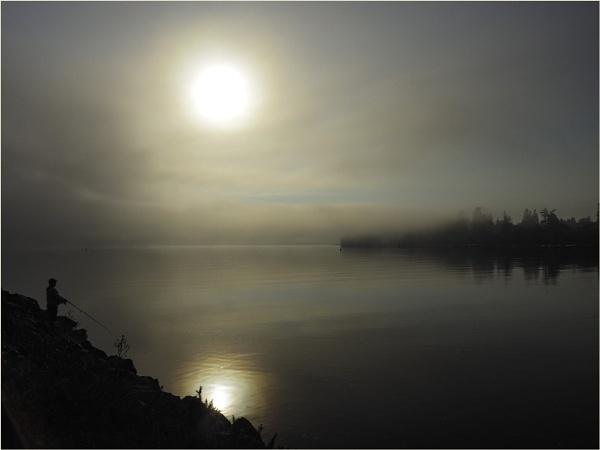 Fishing in the Fog by Daisymaye
