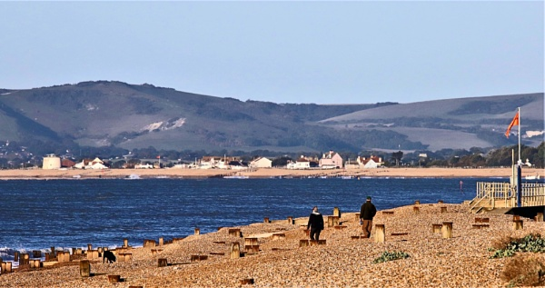 Pevensey Bay and her Martello Tower. by mike9005