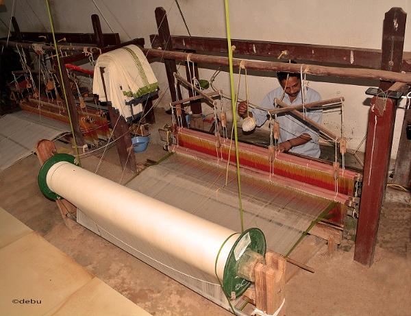 From_Kolkata # 113 Saree Weaving by debu