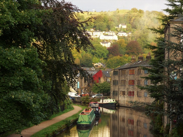 Early morning in Hebden Bridge by cookyphil