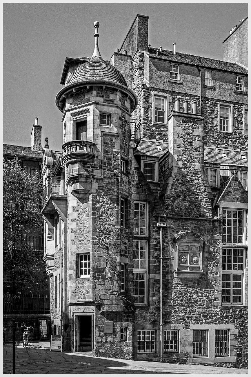 The Writers' Museum, Edinburgh.
