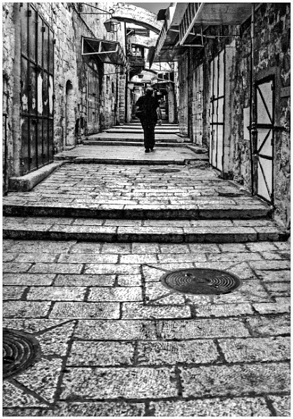 Lane in Jerusalem by mac