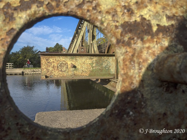 Bailey Bridge at Medley Oxford. by johnzsv