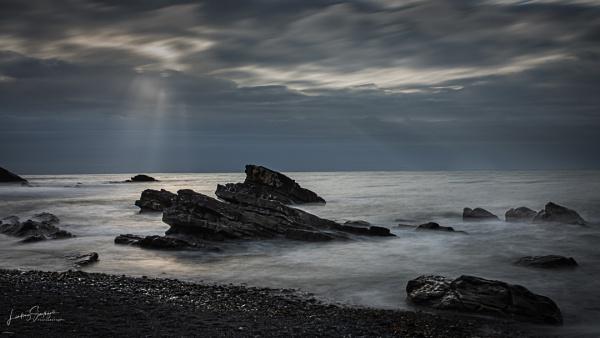 Millook evening light by LLCJ
