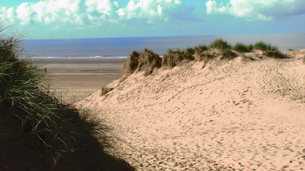 Formby beach and sand dunes. Merseyside by Don20