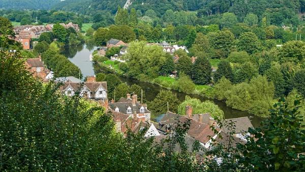 River Severn At Bridgnorth Shropshire by ivalyn