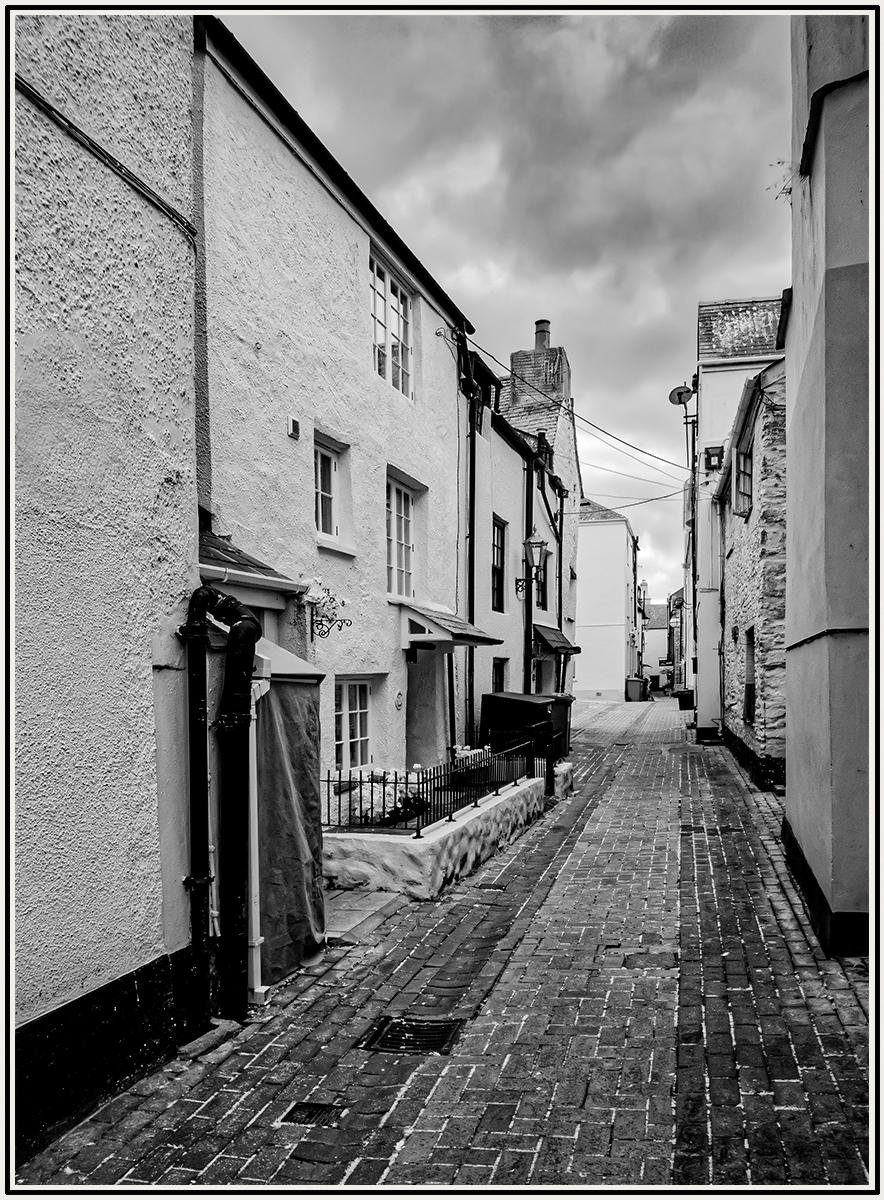 Backstreet in Looe Cornwall